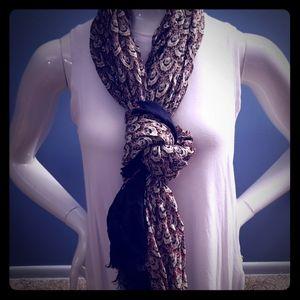 Express pattern scarf
